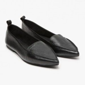 Jeffrey Campbell Vionnet Loafers Flat Black Size 6